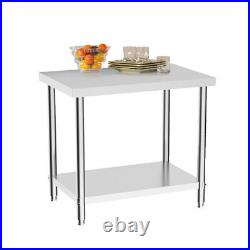 Commercial Kitchen Stainless Steel Work Bench Catering Prep Table Worktop 3-6ft