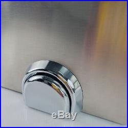 Commercial Knee Operated Hand Wash Sink Stainless Steel Kitchen Basin Hand Free