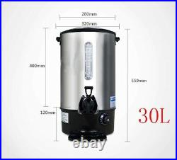 Commercial Office Hot Water Dispenser Stainless Steel Coffee Machine Maker