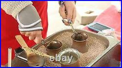 Commercial Sand Coffee Maker Complete set sand+4 points stainless steel 220V