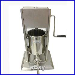 Commercial Sausage Stuffer 3 Litre Stainless Steel Filler Maker Machine Three