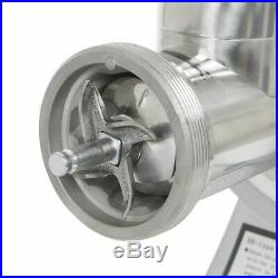 Commercial Stainless Steel 1HP Meat Grinder Blade Plate Sausage Stuffer FDA, 12#