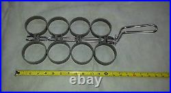 Commercial Stainless Steel 8 Ring Egg Ring with PTFE Rings and S/S Ring Cover