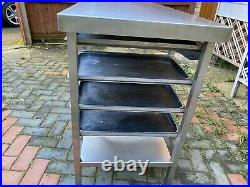 Commercial Stainless Steel Kitchen Food Prep Work Table