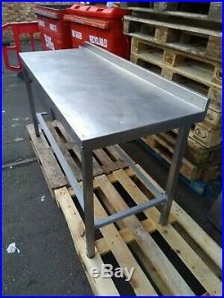 Commercial Stainless Steel Kitchen Wall Prep Table FOOD CATERING GASTRONOM