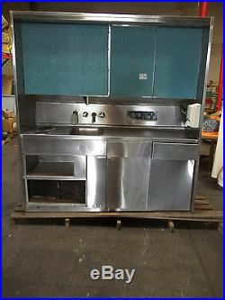 Commercial Stainless Steel Nourishment Station Kitchen Setup Sink Stove