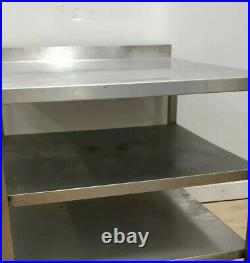 Commercial Stainless Steel Shelving Unit/ Trolley for Kitchen Heavy Duty