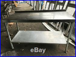 Commercial Stainless Steel Table Work Bench Shelf Kitchen