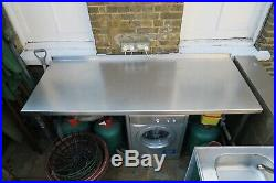 Commercial catering stainless steel table worktop kitchen