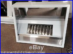 Commercial kitchen canopy hood 3ft extraction kit system stainless steel canopy