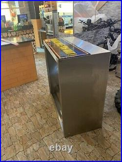Commercial kitchen extractor and stainless steel canopy hood With Grease Filters