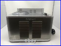 Cuisinart Commercial Ice Cream Maker Batch Freezer (ICE-50BC) Stainless Steel