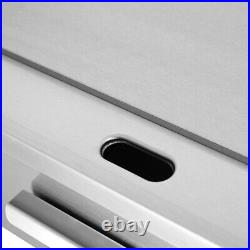 Electric Countertop Griddle Commercial Kitchen Hot Plate Bacon Grill Stainless
