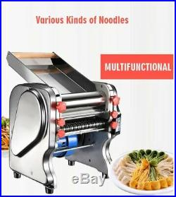 Electric Dough Roller Commercial Stainless Steel Noodle Dumpling Maker Press