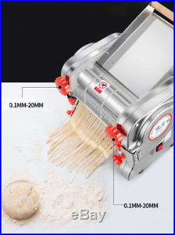 Electric Pasta Press Maker Noodle Machine Stainless Steel Commercial Home 750W