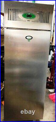 Foster HD 600L Tall Stainless Steel Commercial Catering Kitchen Fridge Mobile