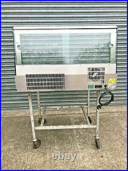 Fridge Food Display Counter Lincat SCR1085 13A Reconditioned Catering Equipment