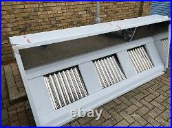 Full Kit 8ft Stainless Steel Commercial Kitchen Canopy Cooker Hood Extraction
