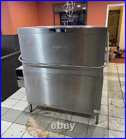 Hobart Premax Stainless Double Commercial Pull Down Dishwasher Kitchen Pub Cafe