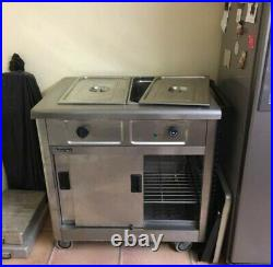 Hot Cupboard Bain Marie Mobile Lincat GBM2 13A Reconditioned Catering Equipment
