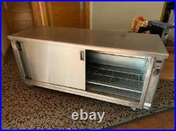 Hot Cupboard Mobile Heavy Duty Victor Peer19 Used Catering Equipment