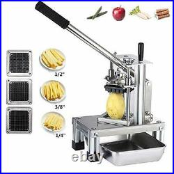 InLoveArts French Fry Cutter, Commercial Grade Potato Slicer with 304 Stainless
