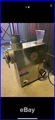 Italian Commercial Meat Mincer Stainless Steel Heavy Duty QUALITY RRP £1200