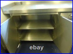 Kitchen Counter Top Stainless Steel IDL Commercial Kitchen Food Prep & Storage