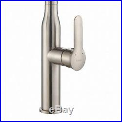 Kraus Nola Single Lever Commercial Pull-Down Kitchen Faucet, Stainless Steel