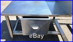 L-Shaped Corner Comercial Large Industrial Stainless Steel Kitchen Sink & Drawer