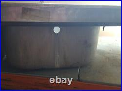 Large Commercial Kitchen Sink Double Sink LHD Stainless Steel Sissons