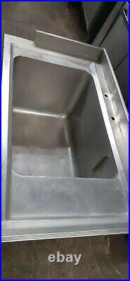 Large Stainless Steel Large Bowl Sink Commercial Industrial Kitchen Restaurant
