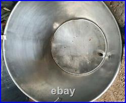 Large stainless steel 55/60 gallon Commercial Kitchen food grade 316 storage