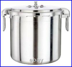 NEW Buffalo Clad Quick Pot Stainless Steel Commercial Pressure Cooker 30L