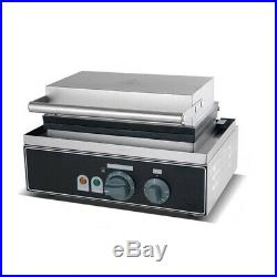 New Stainless Steel Waffle Baker Maker Commercial Catering Kitchen