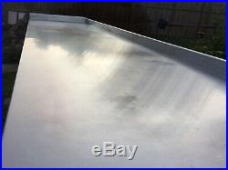 No Reserve Commercial Stainless Steel Work Bench Kitchen Catering Unbranded