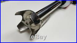 Rotoquip Commercial Kitchen 500 W Hand Mixer Stick Curry Blender Stainless Steel
