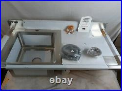 Sink Stainless Steel Commercial Catering Kitchen Single Bowl 1.0 Unit RH B0607
