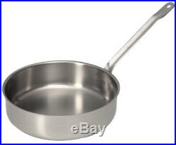 Sitram Catering 4.9-Quart Commercial Stainless Steel Saute Pan Cookware