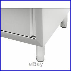 Stainless Steel Commercial Catering Kitchen Unit Single Bowl Right Hand Drainer