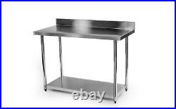 Stainless Steel Commercial Catering Table Work Bench Kitchen 1200mm x 600mm