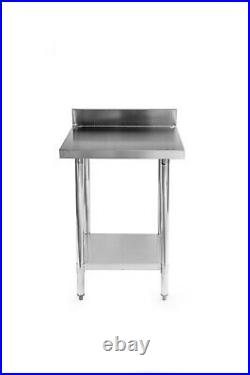 Stainless Steel Commercial Catering Table Work Bench Kitchen 600mm x 600mm