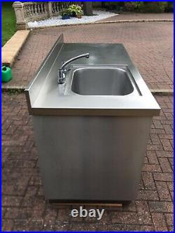 Stainless Steel Commercial Deep Well Kitchen Sink