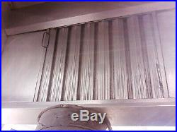 Stainless Steel Commercial Kitchen Canopy Cooker Hood Extraction Hood