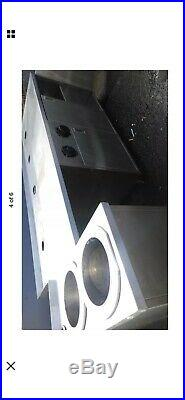 Stainless Steel Commercial Kitchen Canopy Wall Exhaust Hood Extractor