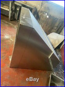 Stainless Steel Commercial Kitchen Extraction Canopy Cooker Hood WEST YORKSHIRE
