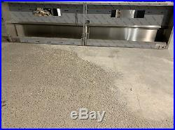 Stainless Steel Commercial Kitchen Extraction Canopy Measuring 4770 X 1200 X 500