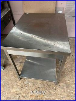 Stainless Steel Commercial Kitchen Table 890x700x850
