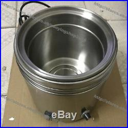 Stainless Steel Commercial Use 220v Electric 3-Bottle Squeeze Bottle Warmer