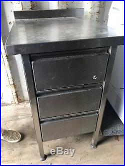 Stainless Steel Floor Standing Catering Commercial Kitchen Storage
